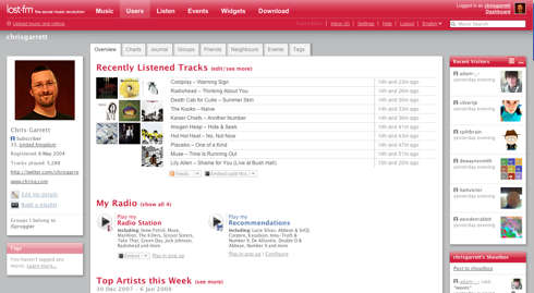 Last.fm - Free Your Music
