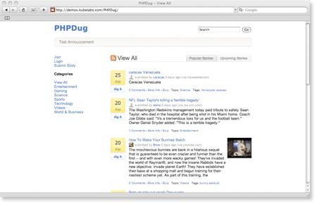 PHPDugg
