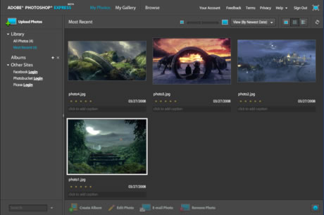 Adobe Photoshop Express|beta 4