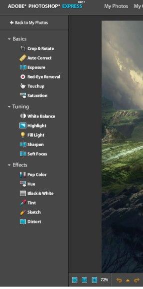 Adobe Photoshop Express|beta 5