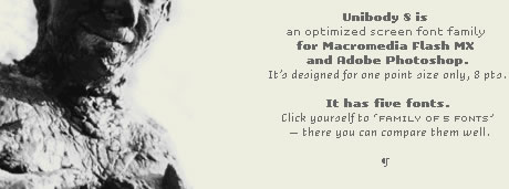 Free Fonts | Unibody, a cross-platform OpenType-font for Flash