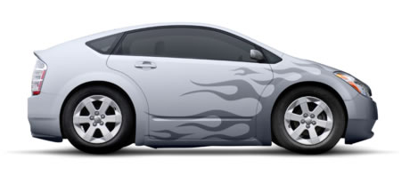Tutorial | How to Add Flaming Decals to a Modern Car Design