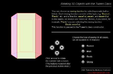Tutorial | Rotating 3D Objects with the Tween Class in ActionScript 3