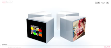 Sony Bravia Web Site