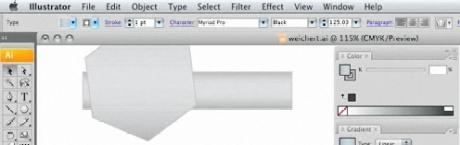 Tutorial   Brushed Metal Effect in Adobe Illustrator