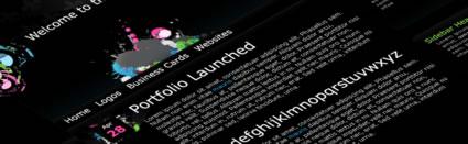 Tutorial | Create a Dark Themed Web Design from Scratch