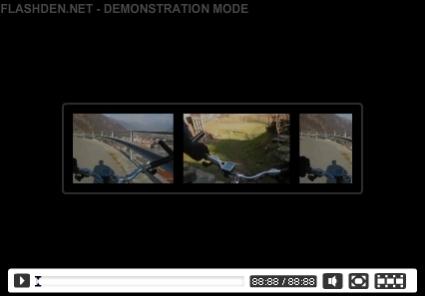 FLV Video Player Multiuse AS3