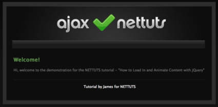 How to Load In and Animate Content with jQuery
