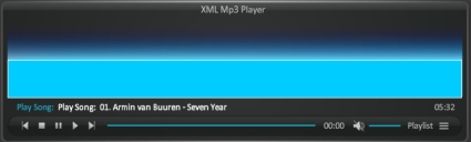 MP3 XML player with Visualisation and skins