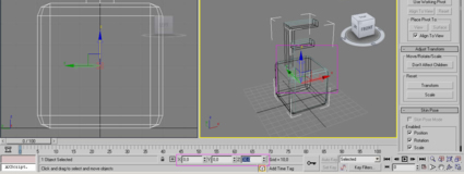 Exporting textured objects from 3d MAX to PV3D 2