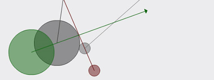 Dynamic Circle/Circle Collision Detection in ActionScript 3