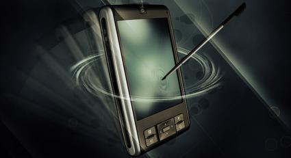 Create a Sleek phone advertisement flyer
