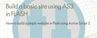 Build A Basic Site Using AS3 in Flash