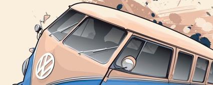 Retro car vectors