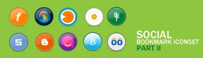 Social Bookmark Iconset 2
